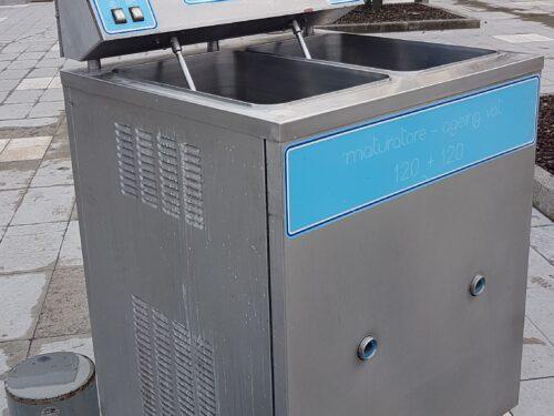 Maturatore per gelaterie (sostituzione impianto refrigerato)